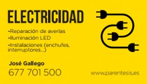 Logotipo de Electricista en Murcia